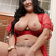 Busty Mom Sammy Brooks Is Horny - image