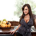 Lisa Ann Fingers Her Juicy Slit - image