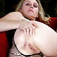 Horny MILF Plays with her Pussy - image