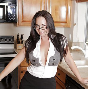 Holly West Naughty In The Kitchen