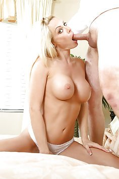 Holly Sampson Horny Cougar Gets Cock