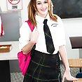Schoolgirl Alaina Dawson Banged In Class