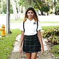 Schoolgirl Fucks the Help - image