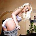 Hot Blond Babe Needs To Cum - image