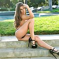 Outdoor Hotness With Cassidy Klein - image