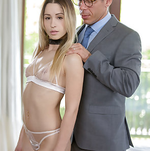College Student Goldie Rush Gets Anal from Teacher