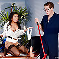 Cindy Starfall Hot and Nasty At Work - image