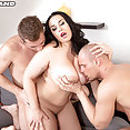 Three On A Busty Sex Spree - image