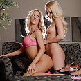 hot girls Aaliyah Love and Cherie DeVille - image