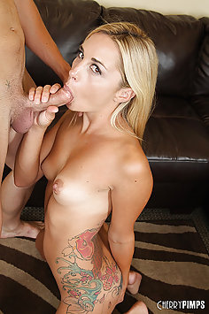 Tiny Titty Mikayala Hendrix Loves That Cock
