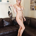 Courtney Taylor masturbates with a thick pink dildo! - image