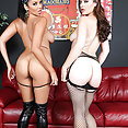 Pornstars Missy Martinez and Sovereign Syre Camming - image