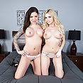 Lez Time with Christie Stevens and Karmen Karma - image