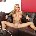 Busty Blonde Britney Shannon Pussy Play - image