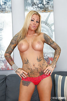 Tattooed Love Doll Britney Shannon Fucking