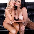 Pornstars Missy Martinez and Nina Elle  - image