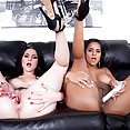 Abby Lee Brazil and Veruca James Go Lesbo - image