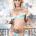 Sexy Tattooed Kleio Valentien - image