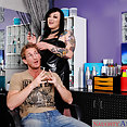 Scarlet LaVey Tats and Titty Fuck - image