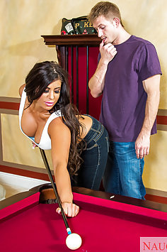 Alexa Pierce Takes His Cue In Her Corner Pocket
