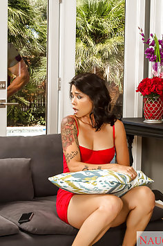 Dana Vespoli Caught Masturbating