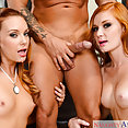 Alex Tanner and Dani Jensen Threesome - image