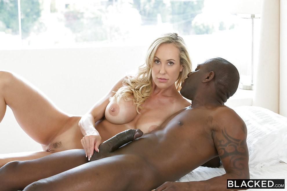 Interracial Guy Takes Big Black Cock