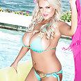 Stacked Bikini Babe Katie Thornton - image