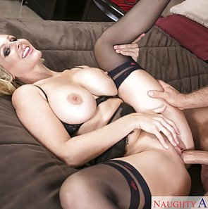 Julia Ann Riding a Big Cock