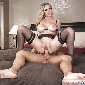 Julia Ann Riding a Big Cock