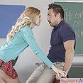Alexa Grace Schoolgirl Sucking Cock