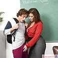 Sara Jay Naughty Teacher - image