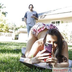 Rachel Starr Ass Selfie Turns To Fucking