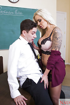 Nina Elle The Teacher Needs Cock