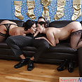 Angela White and Sheridan Love Threeway - image