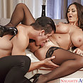 Ava Addams Takes a Young Stud - image