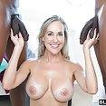 Brandi Love Gets Double Black Cock Fucking - image