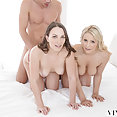 Lily Love and Kylie Page Threesome - image