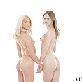 Elsa Jean and Jillian Janson Pledge Threesome - image