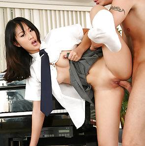Evelyn Lin Sweet Asian Schoolgirl