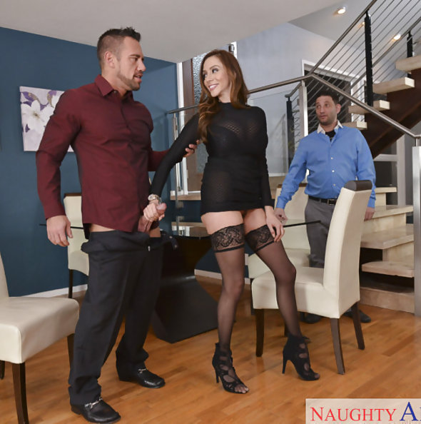 Ariella Ferrera Office Fucking