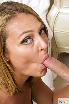Hot MILF Brenda James Loving The Cock