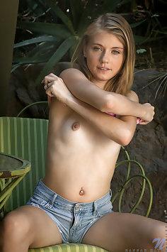 Hannah Hays Jean Shorts Cutie