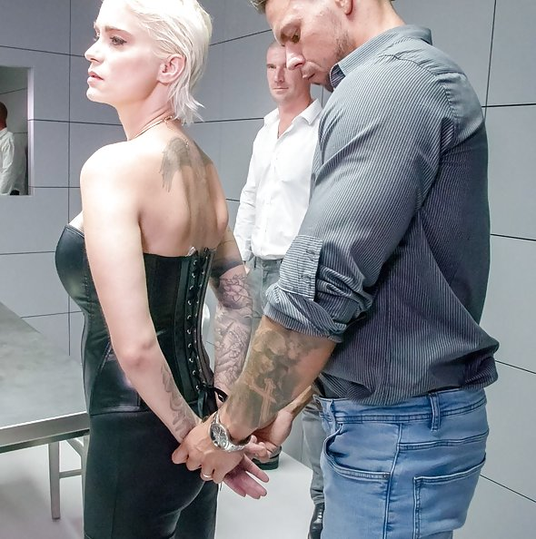 Police Interrogation Turns Threesome