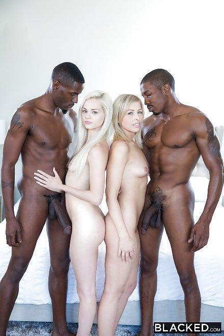 Big Black Dick Foursome